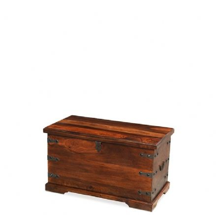 Jali Sheesham Wood Trunk Box